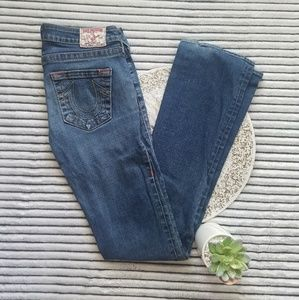 True Religion Johnny Boot Cut Jeans USA Size 27